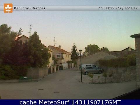 webcam Renuncio Burgos Burgos