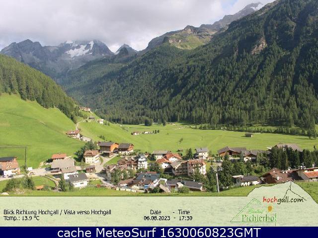 webcam Riva di Tures Bolzano