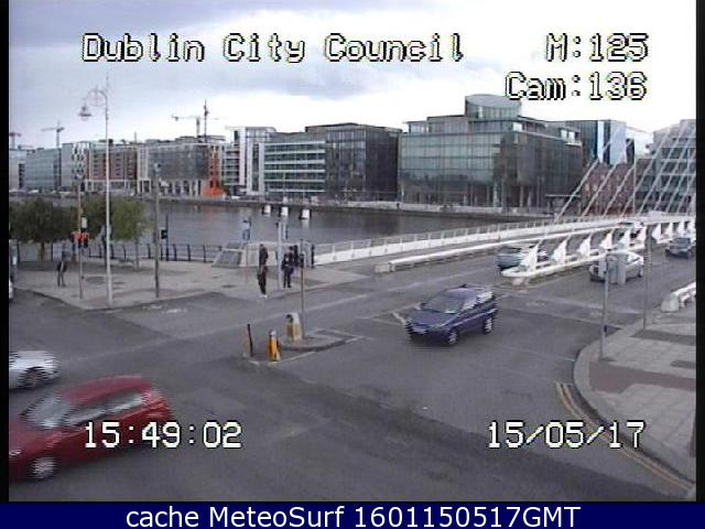 webcam River Liffey Bridge Dublin