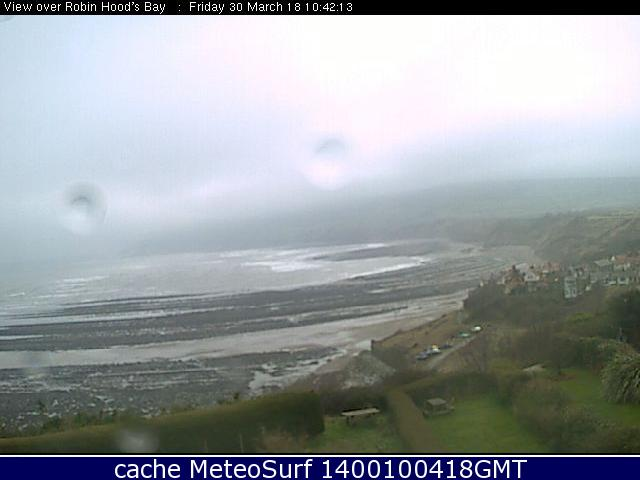 webcam Robin Hood's Bay North Yorkshire
