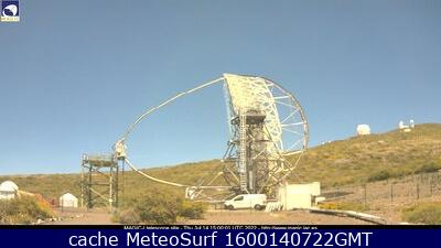 webcam Magic Telescope Santa Cruz de Tenerife