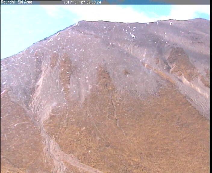 webcam Roundhill Ski  Tekapo