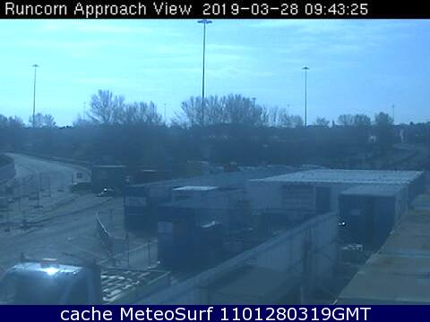 webcam Runcorn North West