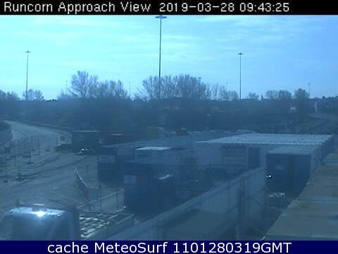 webcam Runcorn North West