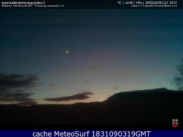 webcam Saint-Bauzile Ardèche