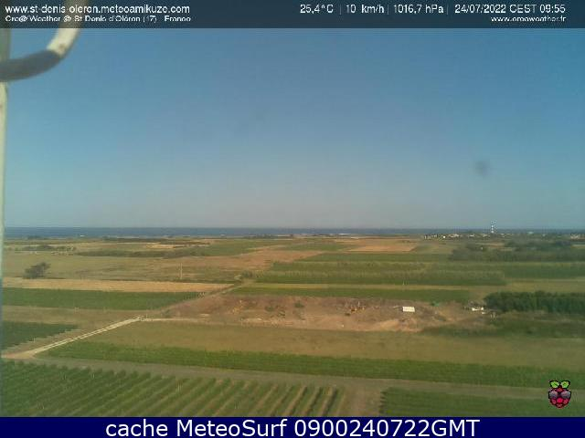 webcam Saint Denis d'Oléron Charente-Maritime