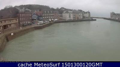 webcam Saint Valery en Caux Seine Maritime