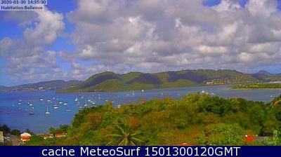 webcam Sainte Anne Le Marin