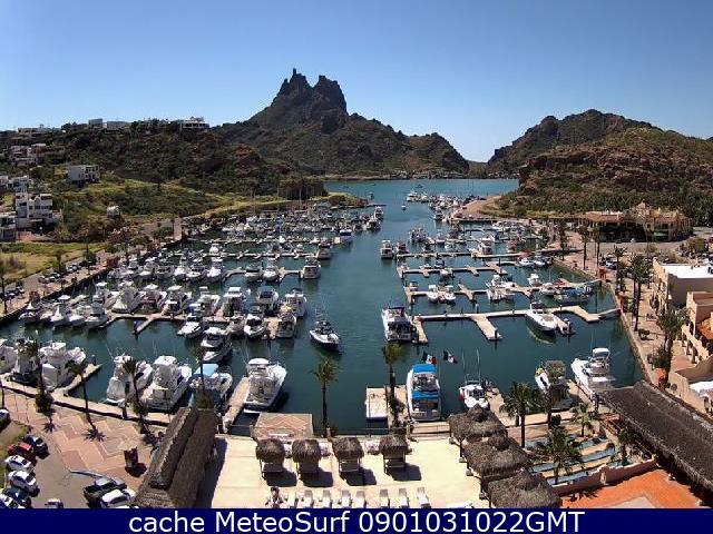 webcam San Carlos Marina Guaymas