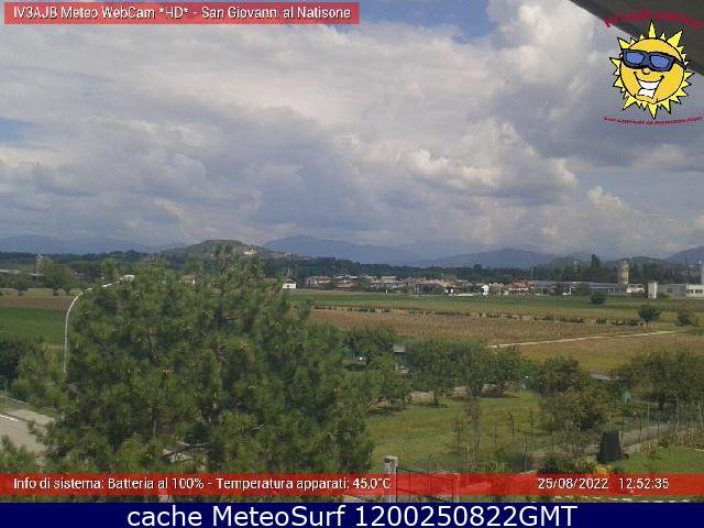 webcam San Giovanni al Natisone Udine