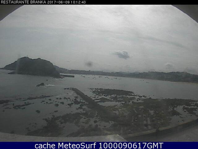 webcam San Sebastian Ondarreta Guipúzcoa
