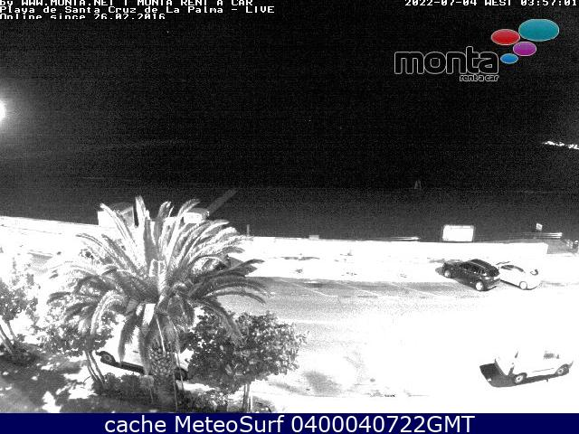 webcam Santa Cruz de La Palma Santa Cruz de Tenerife