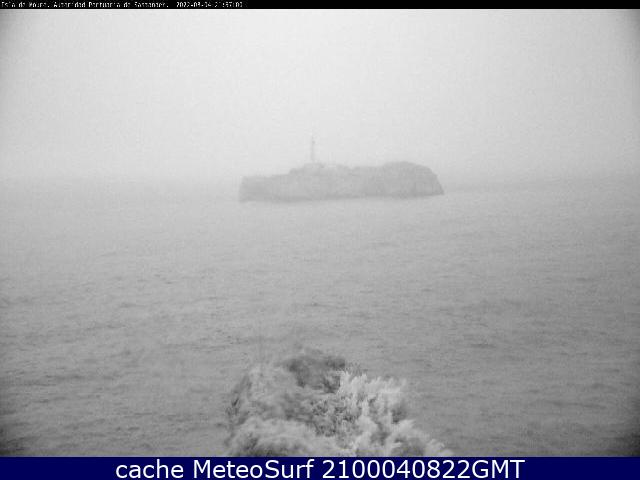 webcam Santander Isla Mouro Cantabria