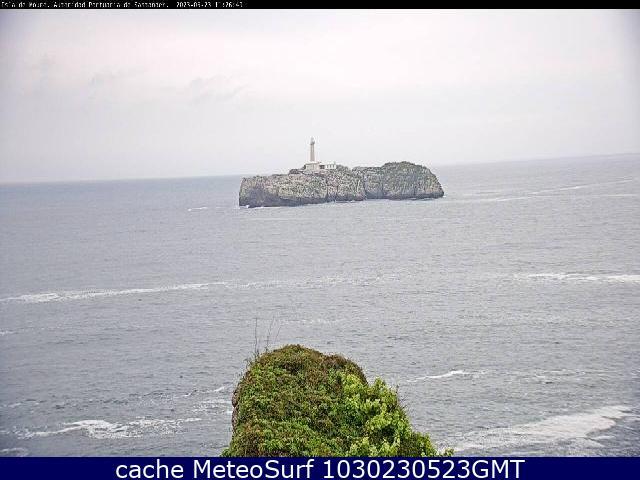 webcam Santander Isla Mouro Cantabria