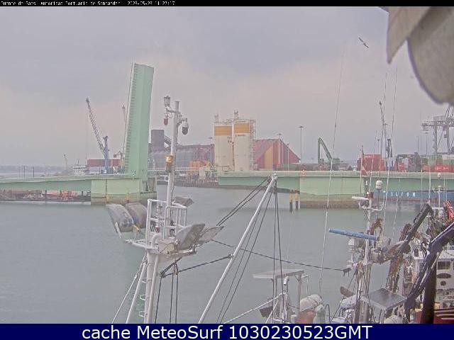 webcam Interior del Puerto Santander Santander