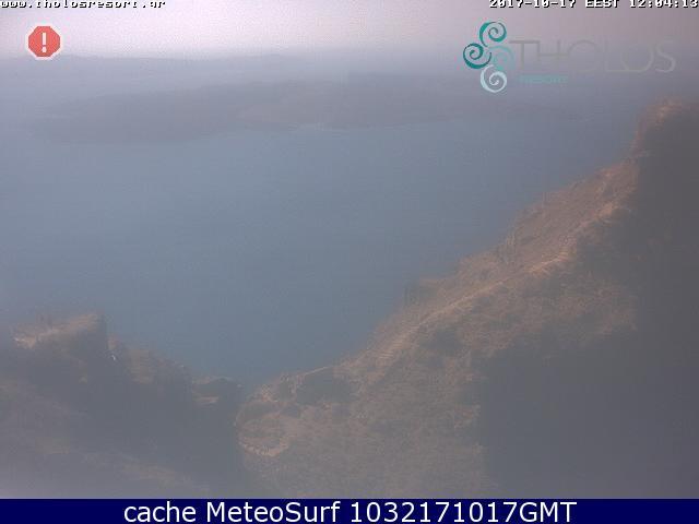 webcam Oia Santorini