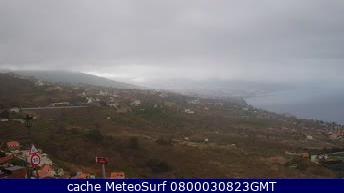 webcam Sauzal El Teide Santa Cruz de Tenerife