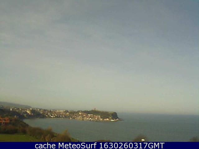webcam Scarborough Bay Yorkshire and the Humber