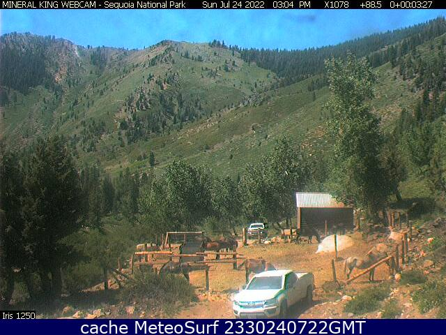 webcam Sequoia National Park Tulare