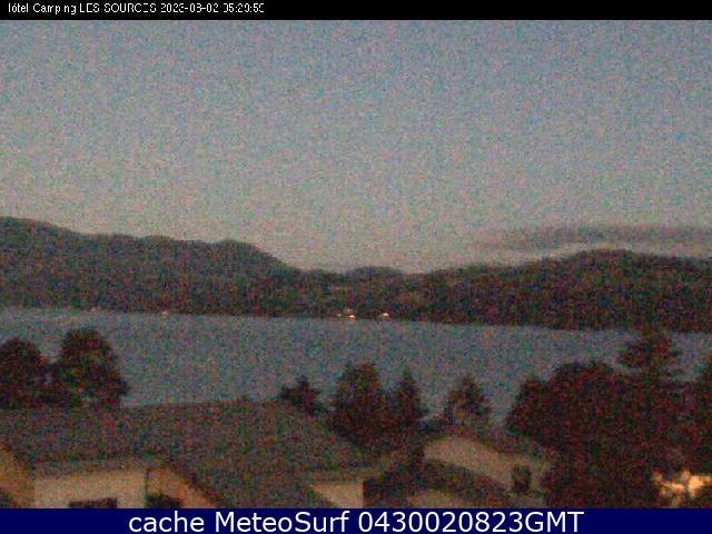 webcam Serre Ponçon Lac Hautes Alpes