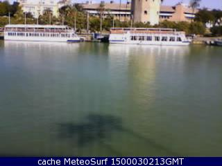 webcam Guadalquivir Torre del Oro Sevilla