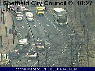 webcam Sheffield Sheaf Square South Yorkshire