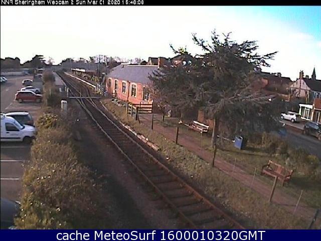 webcam Sheringham East of England