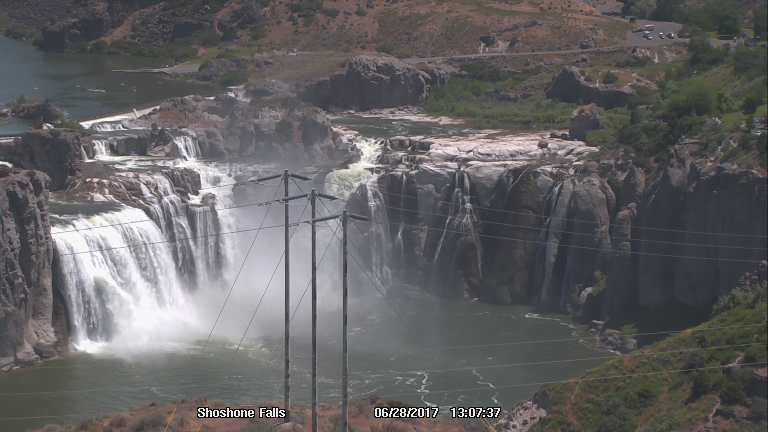 webcam Shoshone Falls Twin Falls