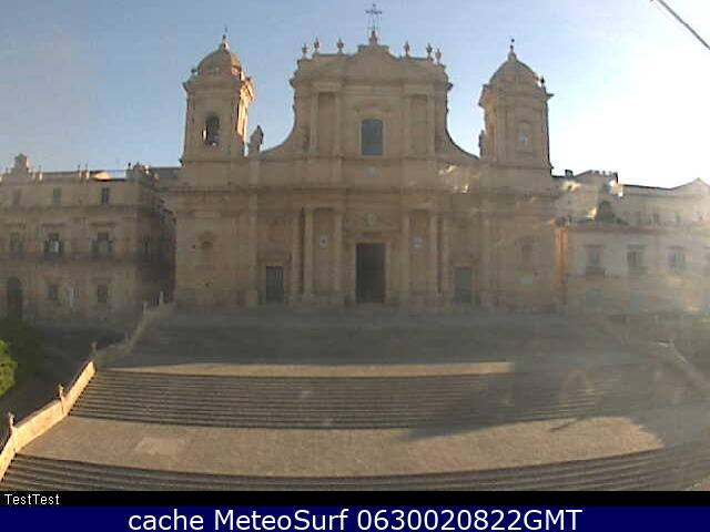 webcam Catedral Noto Siracusa