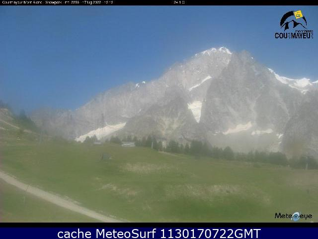 webcam Courmayeur Snowpark Valle d Aosta