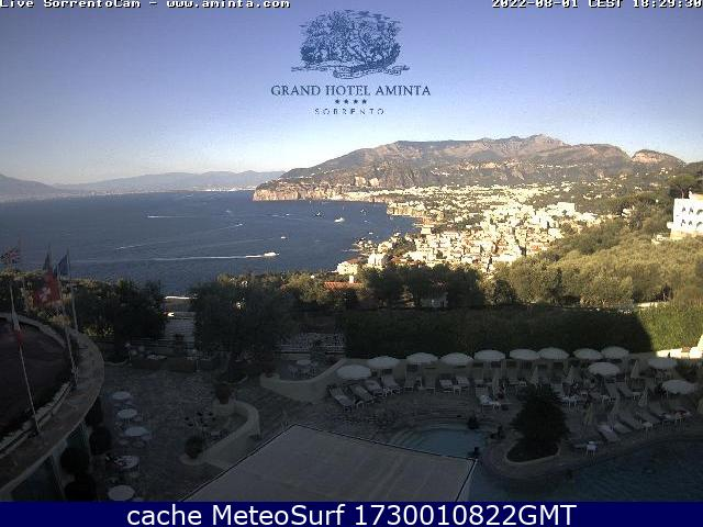 webcam Sorrento Hotel Nápoles