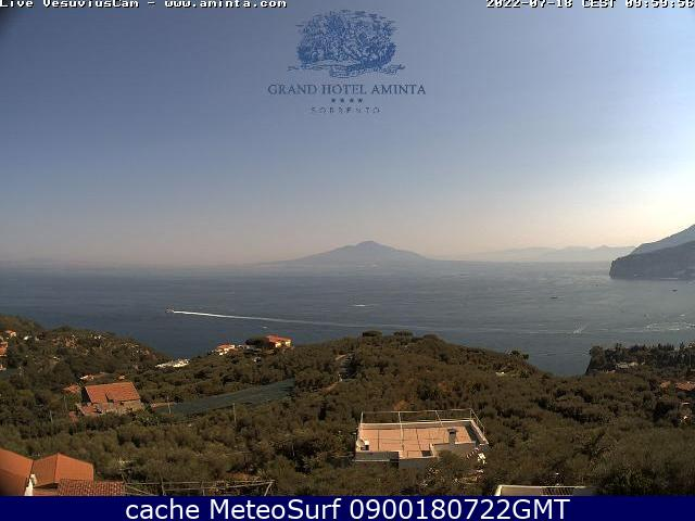 webcam Sorrento Nápoles