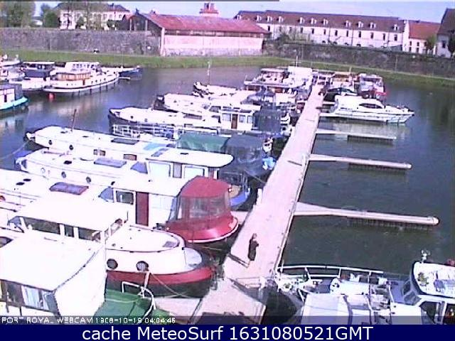 webcam St Jean de Losne Côte d'Or