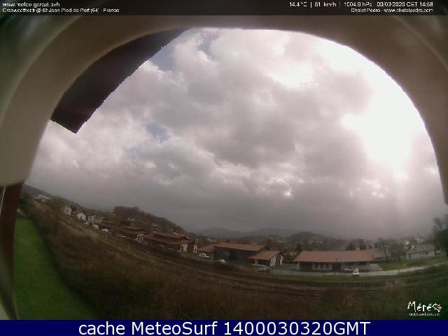 webcam Saint-Jean-Pied-de-Port Pyrénées Atlantiques
