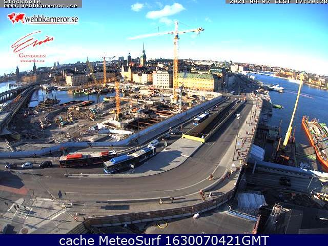 webcam Stockholm Estocolmo
