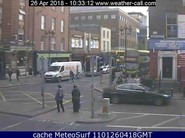 webcam Talbot Street Dublin