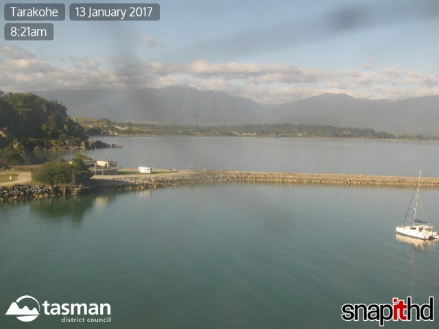 webcam Tarakohe Tasman