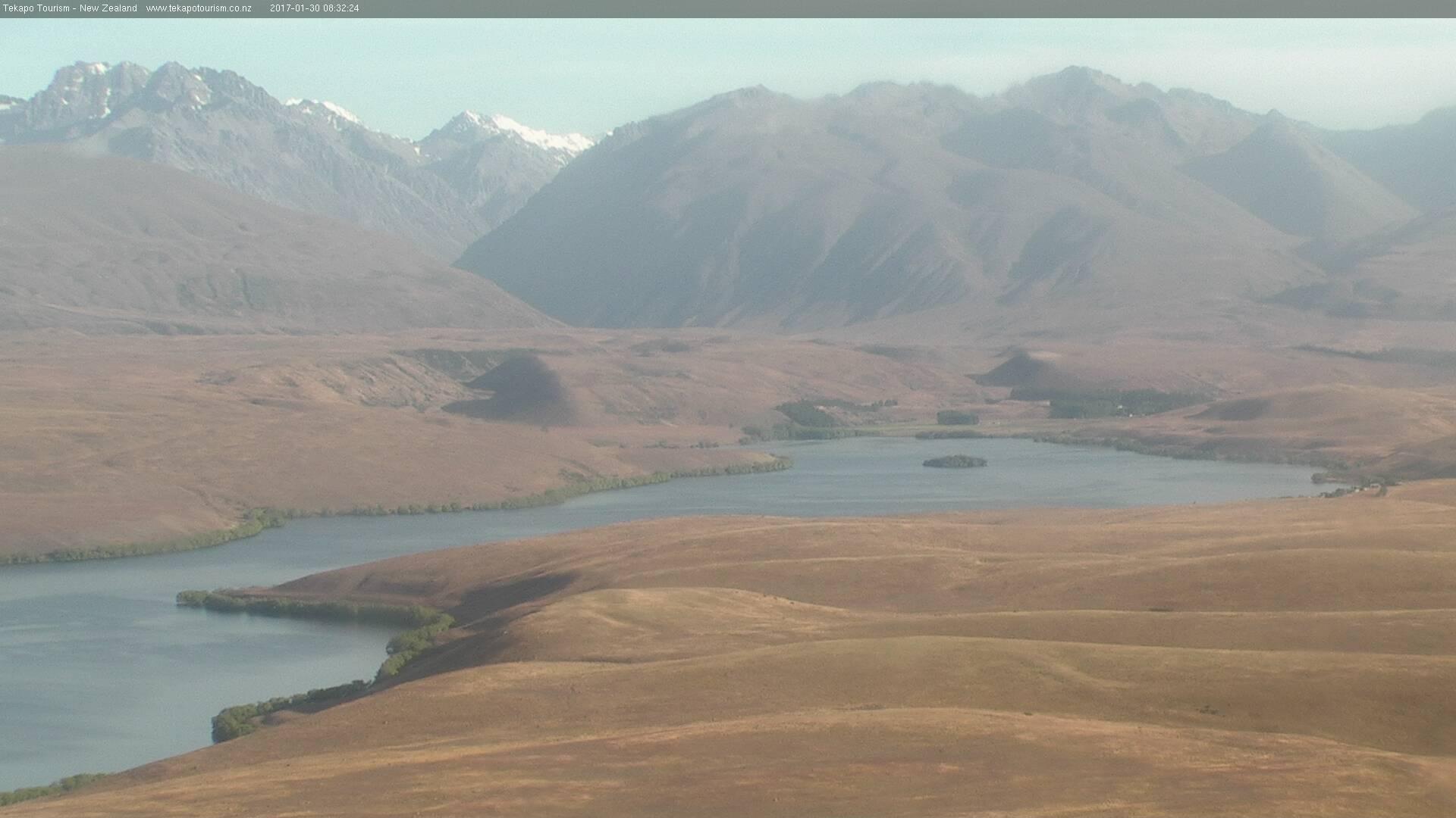 webcam Lake Alexandrina Tekapo
