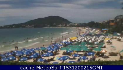 webcam Bombinhas Hotel Itajai
