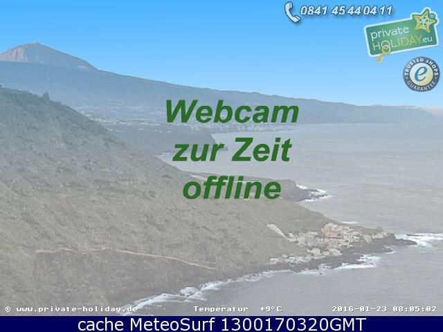 webcam Guia Santa Cruz de Tenerife