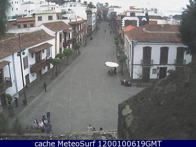 webcam Teror Plaza del Pino Las Palmas