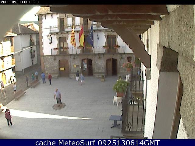 webcam Anso Ayuntamiento Huesca