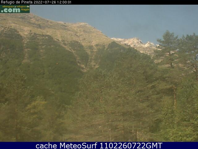 webcam Pineta Bielsa Huesca