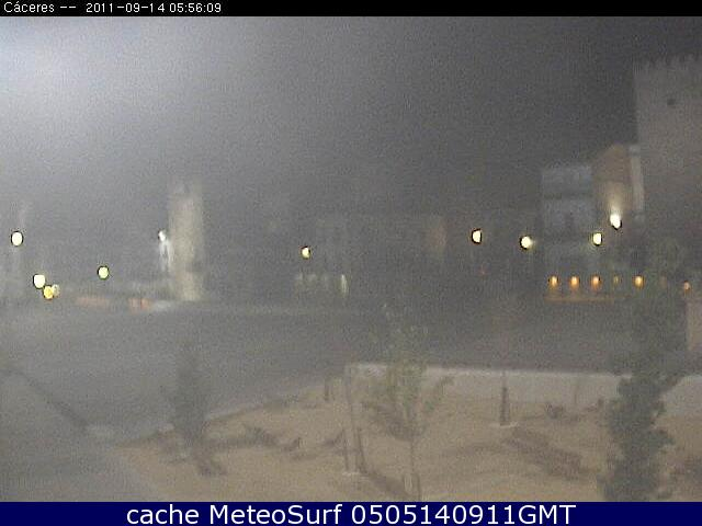 webcam Caceres Plaza Mayor Caceres