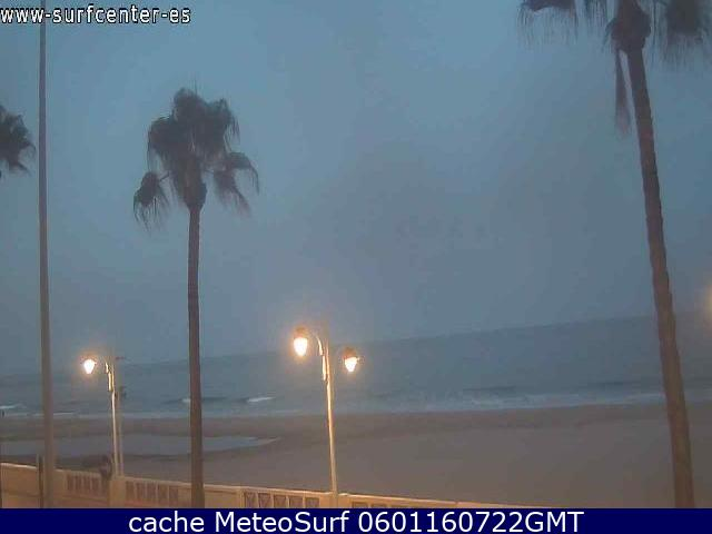 webcam Cortadura Surf Cam Cadiz