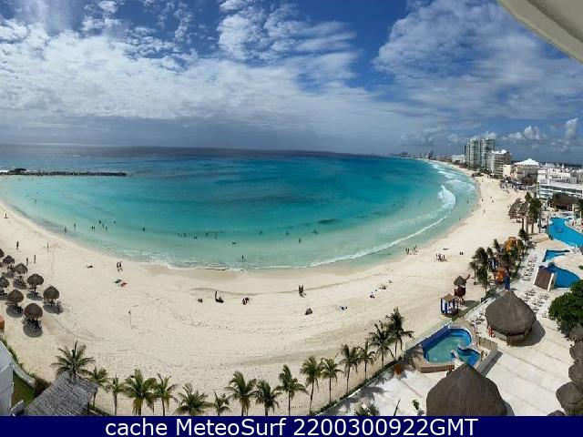 webcam Punta Cancún Benito Juárez