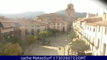 webcam Caravaca Plaza del Arco Murcia