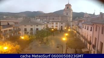 webcam Caravaca Plaza del Arco Noroeste