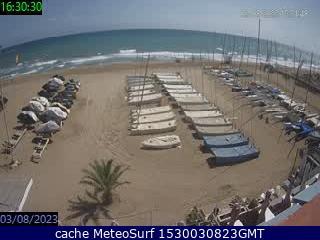 webcam Castelldefels Sitges Barcelona