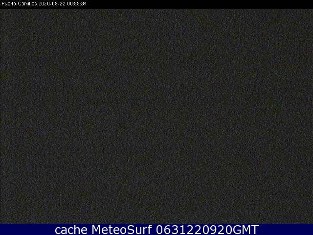 webcam Comillas Puerto Costa Occidental